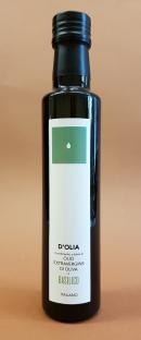 Condimento di Olio extravergine d'Oliva e di Basilico