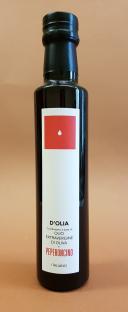 Condimento di Olio extravergine d'Oliva al Peperoncino