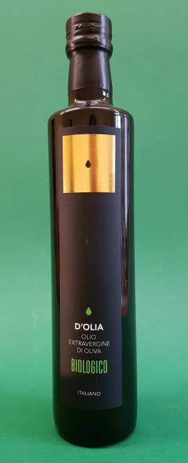 Olio extravergine d'Oliva da agricoltura excellente